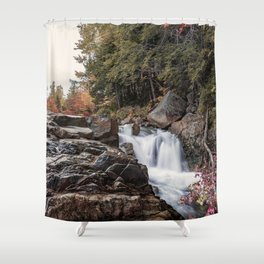 Waterfall at Rocky Gorge Shower Curtain