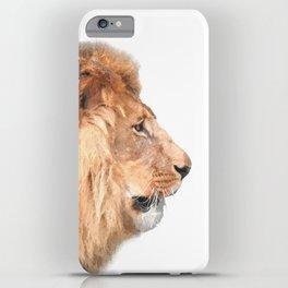 Lion Profile iPhone Case