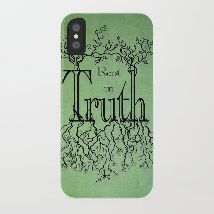 Root in Truth iPhone Case