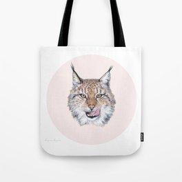 Lynx Lynx portrait Tote Bag