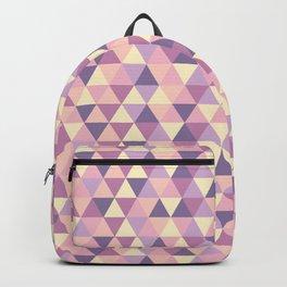 Pastel Pink Geometric Art Backpack