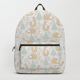 foxes and chickens Backpack