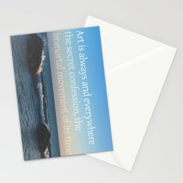 Secret Confession Stationery Cards
