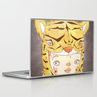 hiccup Laptop & iPad Skins featuring DRUNKEN TIGAAAAR by PAUL PiERROt