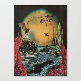 Licorice Icarus Canvas Print
