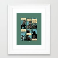 metal gear solid Framed Art Prints featuring Metal Gear Solid 2 by Benjamin Rivers