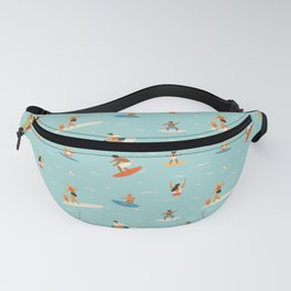 Surfing kids Fanny Pack
