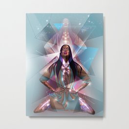 The Light of Truth Metal Print