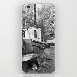 Abandoned Fishing Boats iPhone Skin