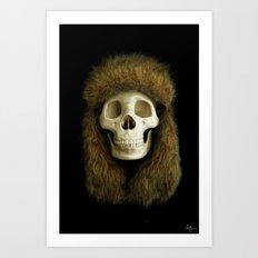Northern Skull Art Print