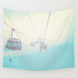 Chair Lift into the Light Wall Tapestry