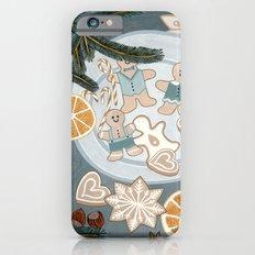 Gingerbread Men Cookies Slim Case iPhone 6s