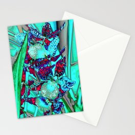 Orchid,Orchidee Stationery Cards
