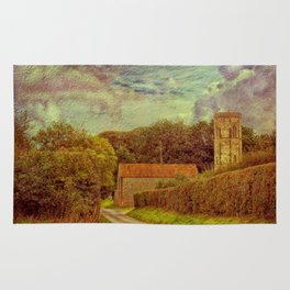 The Old Church Tower Rug