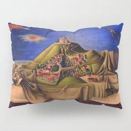 'The Dream of the Malinche' magical realism dream portrait painting by Antonio Ruiz Pillow Sham