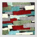 Colorful Patches Abstract by perkinsdesigns