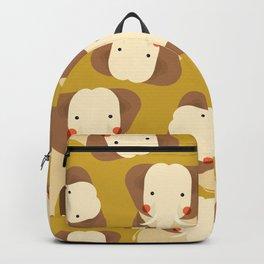 Elephant, Animal Portrait Backpack
