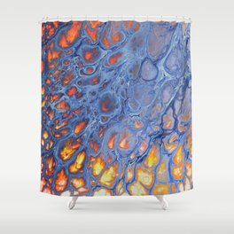 Dragon Scale Shower Curtain