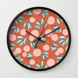 Modern Magnolia Wall Clock