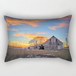 January Sunset Rectangular Pillow