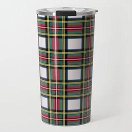 Minimalist Stewart Dress Tartan Modern Travel Mug
