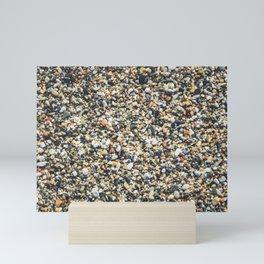 Sea pebble Mini Art Print