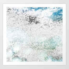Tropical Splash Art Print