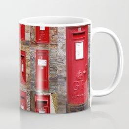 Postboxes of Old England Coffee Mug