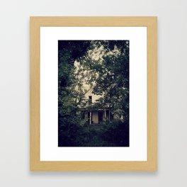 Willie Johnson's Lake Home  Framed Art Print