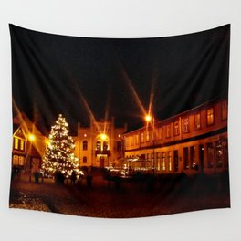 Christmas city Wall Tapestry