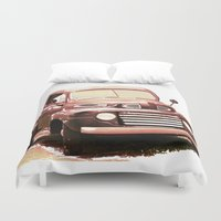 truck Duvet Covers featuring Old Truck by Regan's World