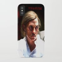 true detective iPhone & iPod Cases featuring True Detective by Sunli