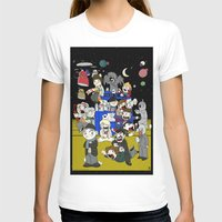 dr who T-shirts featuring Dr Who Kiddies by chrismcquinlan