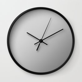 STEEL / Plain Soft Mood Color Blends / iPhone Case Wall Clock