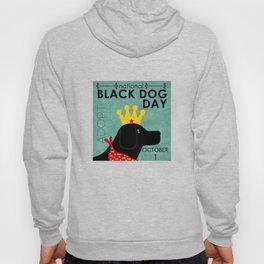 Black Dog Day Royal Crown Hoody