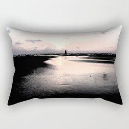 beach in goa Rectangular Pillow