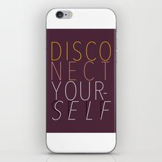 DISCONECT iPhone & iPod Skin