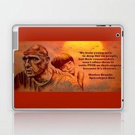 Marlon Brando as Colonel Kurtz Laptop & iPad Skin