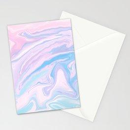 Pastel Unicorn Marble Dream #1 #pastel #decor #art #society6 Stationery Cards