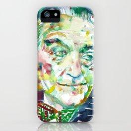 FRITZ LANG - watercolor portrait.1 iPhone Case