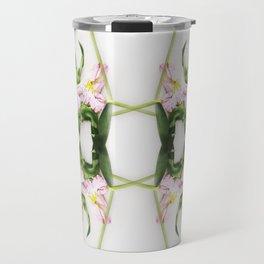Geometric floral Travel Mug