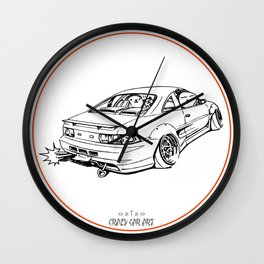 Crazy Car Art 0205 Wall Clock