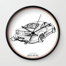 Crazy Car Art 0205 Wall Clock