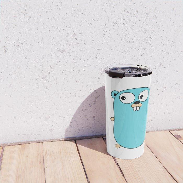 Gopher - Golang Travel Mug