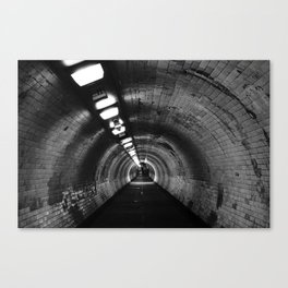 Beneath the Thames Canvas Print