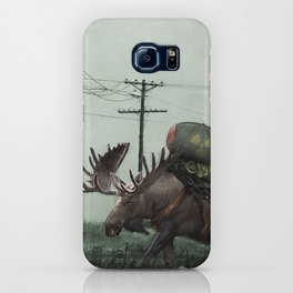 Strategic Nuclear Moose - Fallout - And God Said Let Them Have Beer iPhone Case