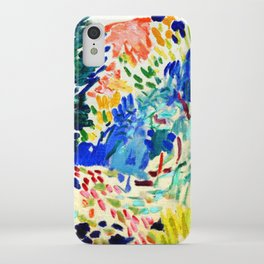 Henri Matisse Landscape at Collioure iPhone Case