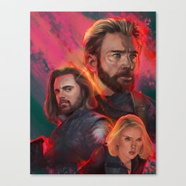 The Trinity Canvas Print