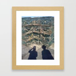 Traps and Shadows Framed Art Print