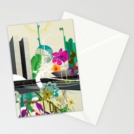 Disorder in Progress Stationery Cards